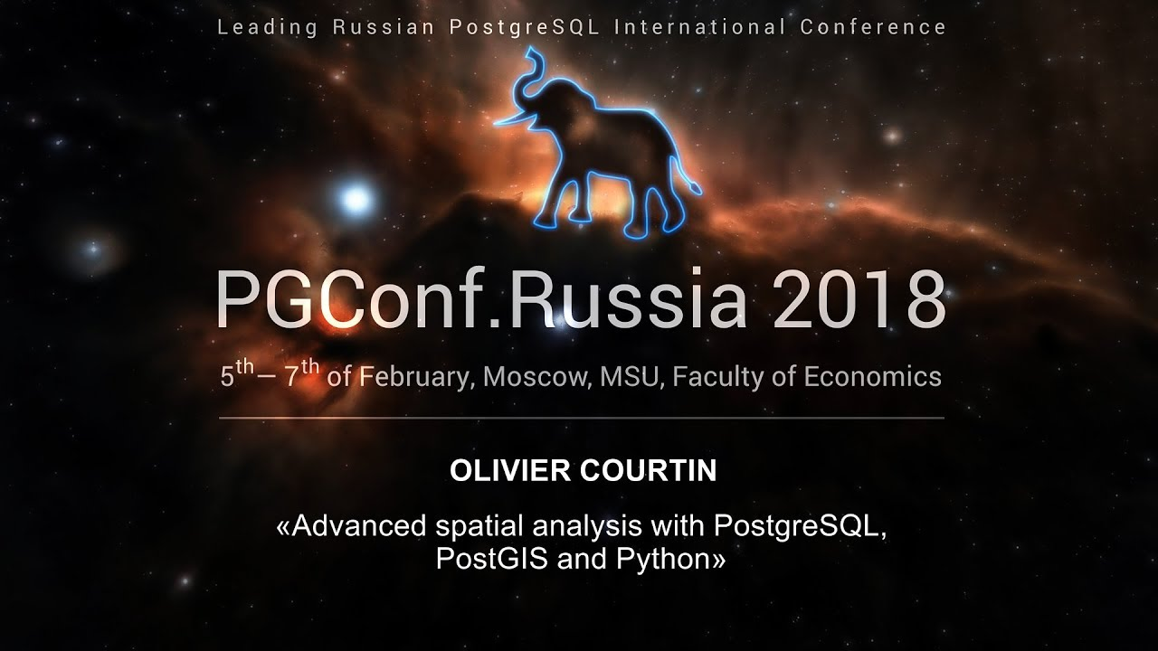 Advanced spatial analysis with PostgreSQL, PostGIS and Python | Olivier  Courtin