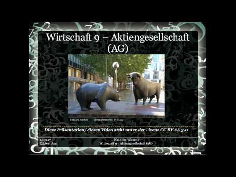 Wirtschaft 9 - Aktiengesellschaft AG