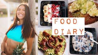 FOOD DIARY - 5 Tage 🥑🍑🍕 | Shanti Tan