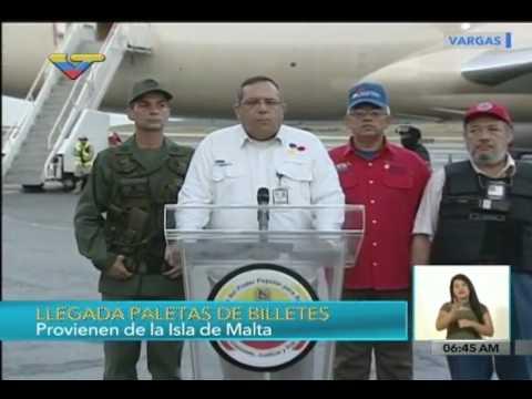Llegaron a Venezuela 30 millones de billetes de Bs. 2 mil y Bs. 20 mil