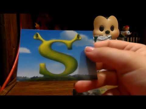 Opening Shrek 2 Wacky Packs Trading Cards Youtube