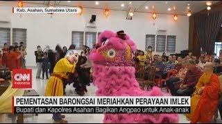 Pementasan Barongsai Meriahkan Perayaan Imlek di Asahan