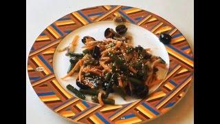 Салат с корейской морковкой - Просто. Быстро. Вкусно.