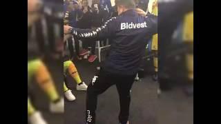 Gavin Hunt(Bidvest Wits fc) coach dancing to INiNja