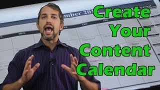 How to make an editorial calendar- content calendar