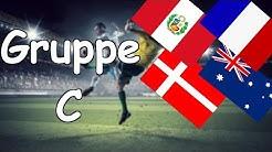WM 2018 | Gruppe C | Frankreich, Australien,Peru, Dänemark | Analyse und Prognose