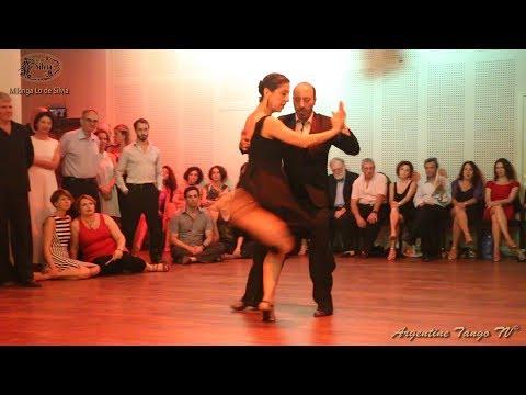 """Analía Vega Y Marcelo Varela - (1/4) - Milonga """"Lo De Silvia"""" - Tel-Aviv - 25/10/2019"""