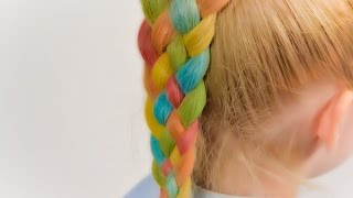 How To: Five (5) Strand Braid. Easy way to learn