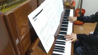 中西保志の最後の雨をピアノで弾いてみました。