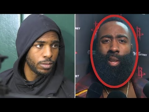 James Harden Says TRADE CHRIS PAUL NOW... HE CANT WIN And Chris Paul FIRES BACK