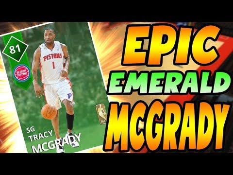 NBA 2K18 MYTEAM EMERALD TRACY MCGRADY GAMEPLAY! I WASN