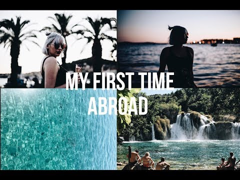 My First Time Abroad Vlog | Croatia Split Travel Diary |