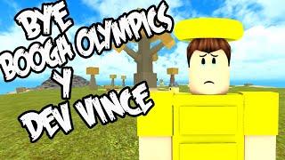 ADIOS BOOGA OLYMPICS!!! MALAS NOTICIAS DE BOOGA BOOGA | ROBLOX ESPAÑOL