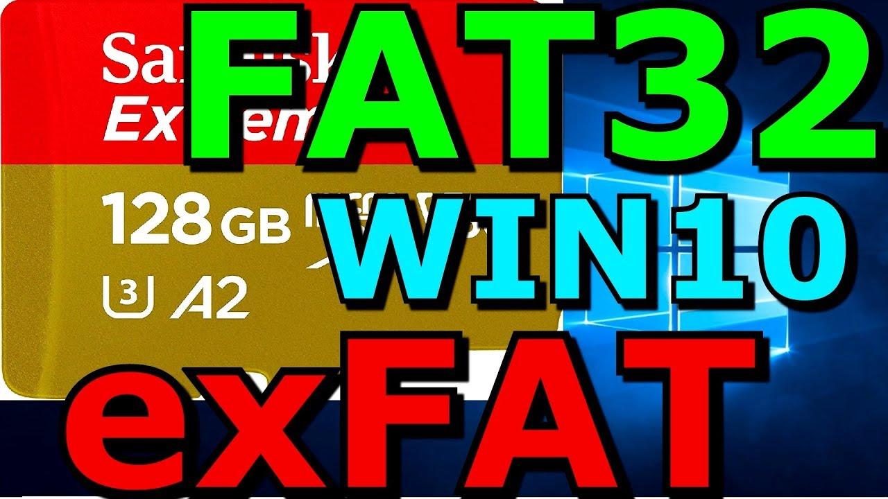 How do I format a 10GB USB to FAT10 in Windows 10