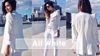 ⭐️ ALL WHITE - Como usar roupa branca com estilo ⭐️