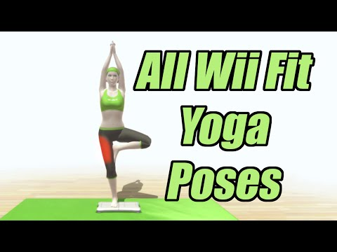 All Wii Fit Yoga Poses