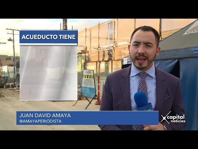 Acueducto de Bogotá adelanta 632 obras en toda la ciudad