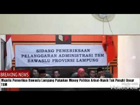 Kuasa Hukum Paslon 1 Curigai Adanya Akal-akalan Bawaslu Lampung Yang Memenangkan Arinal-Nunik