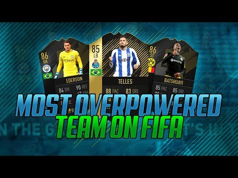 THE BEST TEAM YOU CAN MAKE ON FIFA - FIFA 18 SQUAD BUILDER
