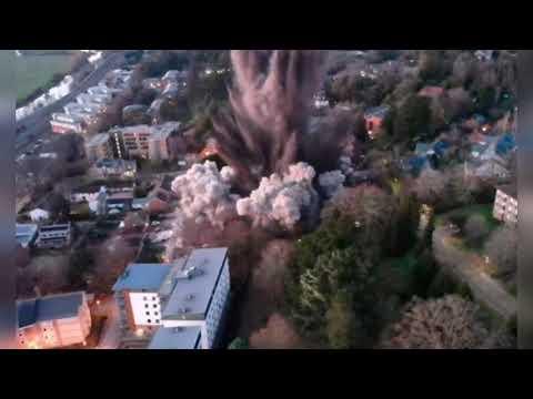 Video| Explota bomba de la segunda guerra mundial en Reino Unido