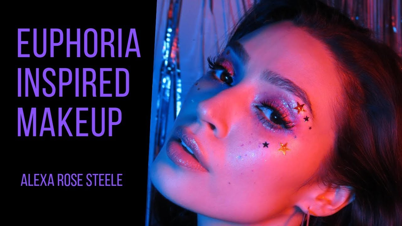 Euphoria Makeup Zendaya Rue Inspired Alexa Rose Steele Youtube