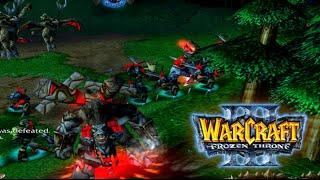 Warcraft 3: The Frozen Throne | ORCI GAZE SVE PRED SOBOM | ☆ Srpski/Hrvatski/Bosanski Gameplay ☆