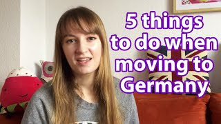 Moving to Germany?