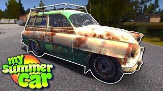 STEALING A NEW CAR! - My Summer Car Gameplay - My Summer Car Beta Update