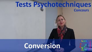 Les tests psycho by Debo - Conversion - Tests psychotechniques