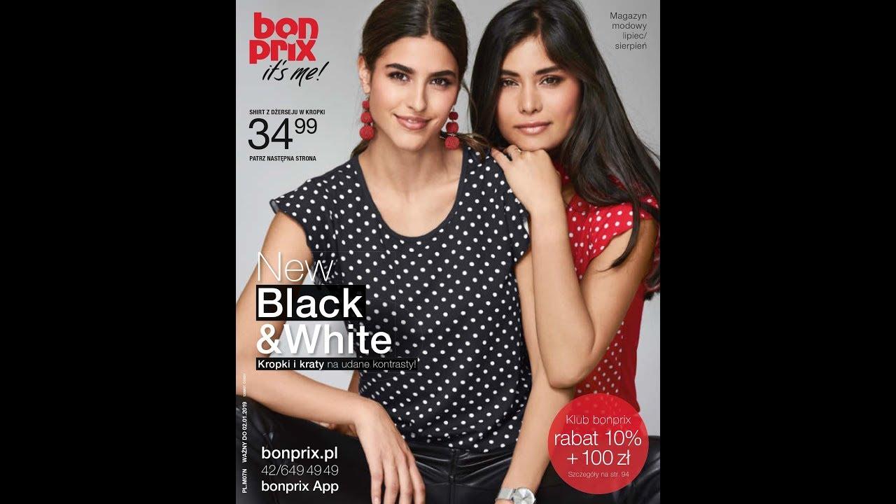 2df4d468216a94 Katalog Bonprix - lipiec sierpień 2018 New black & white - YouTube