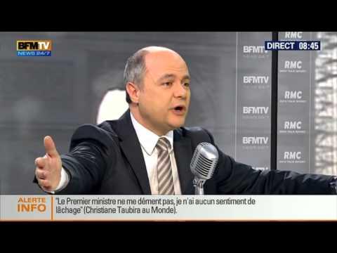 Bourdin Direct: Bruno Le Roux - 13/03