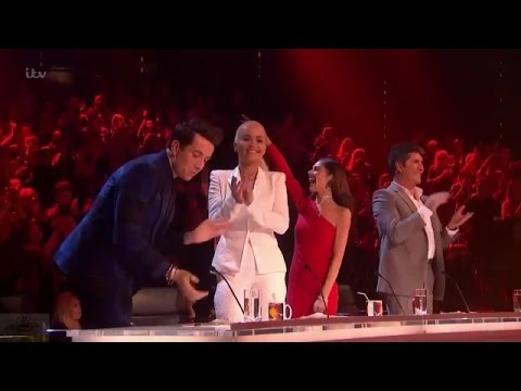 Men On Point singing 'Shut up and Dance with me' cover - Week 4 - Live Shows - The X Factor UK 2015