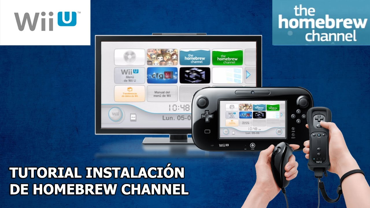 Instalar homebrew channel wii u