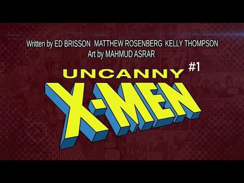 UNCANNY X-MEN #1 Launch Trailer