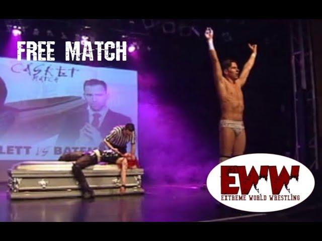 Free Match: Casket match! Skarlett Vs Philip Bateman