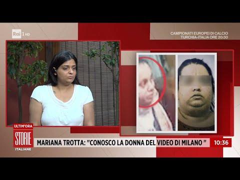 """Caso Denise, Mariana Trotta: """"Conosco la donna del video di Milano"""" - Storie italiane 11/06/2021"""