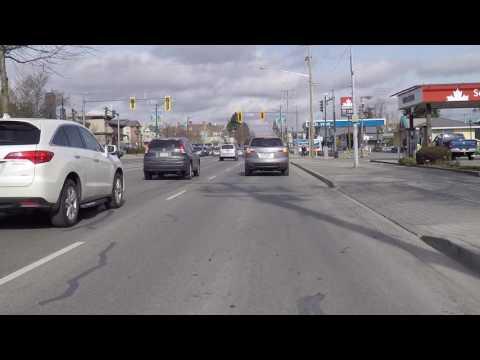 Drive In Tsawwassen - DELTA British Columbia Canada - Near The Border Of USA