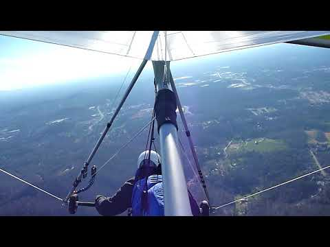 2018.03.16 Hang Gliding over Hibriten Mtn