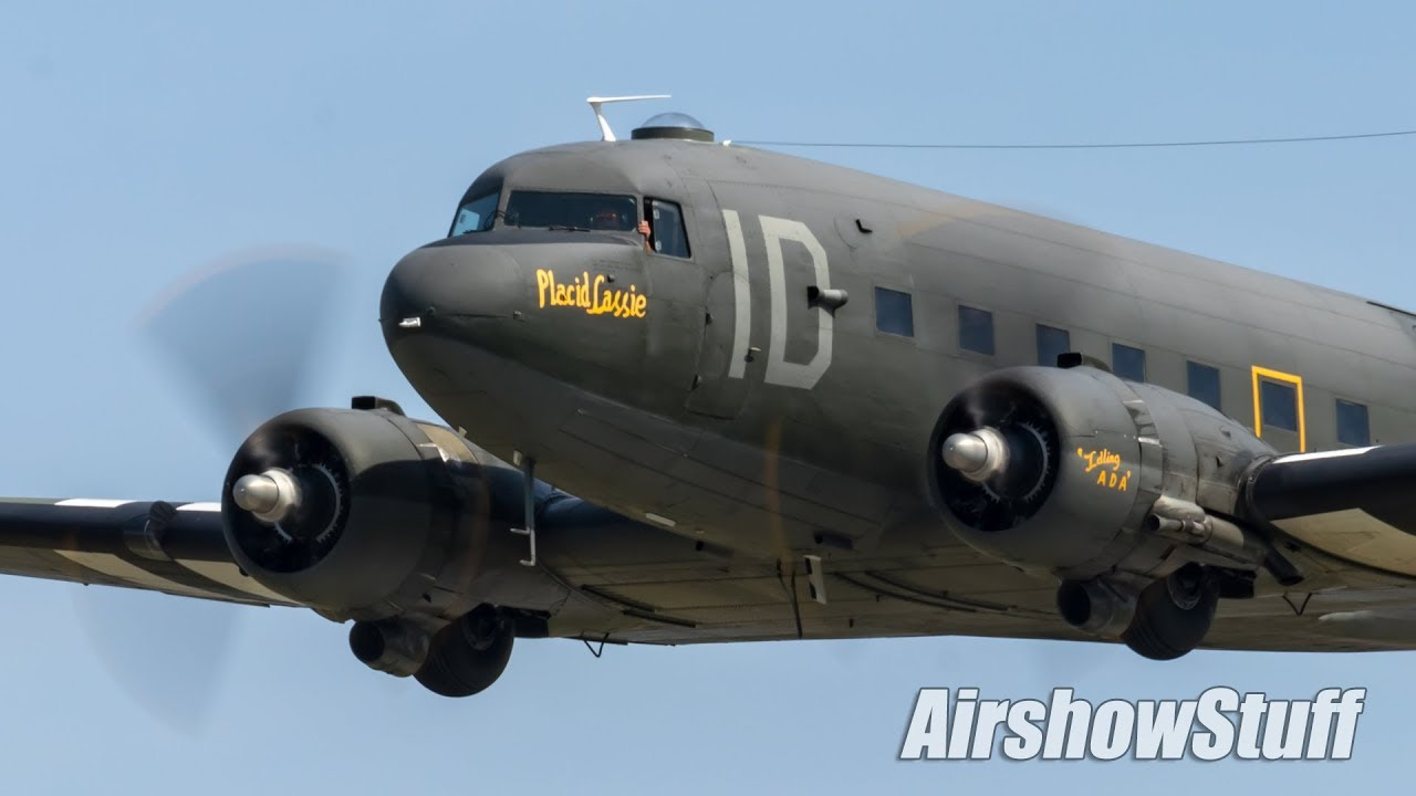 Download C-47 Skytrain Flybys - Cleveland National Airshow 2018