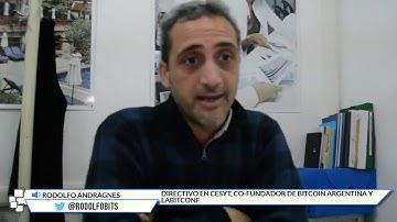 """Rodolfo Andragnes sobre """"Bitcoin y blockchain: un mundo de oportunidades""""   CriptoNoticias"""