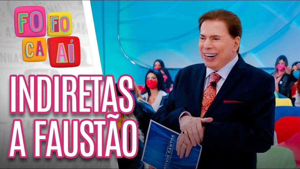 Silvio Santos volta ao ar com indiretas a Faustão - Fofoca Aí (02/08/21)