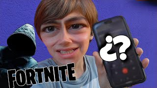 I CALL THE HACKER THAT I TAKE MY FORTNITE ACCOUNT TO RETAKE ME **INCOMOD CALL** -Bossplay898