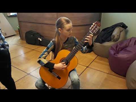 Трансакустическая классическая гитара Ямаха Yamaha CG-TA . Ф. Таррега - Прелюд Слеза