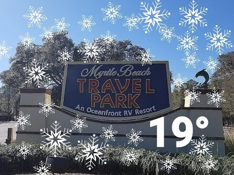 Myrtle Beach Travel Park Review, First Trip In The New Travel Trailer