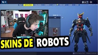 RUBIUS REACTS TO FORTNITE SEASON 9 AND THE NEW SKINS