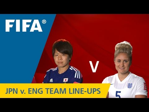 Japan v. England - Team Lineups EXCLUSIVE