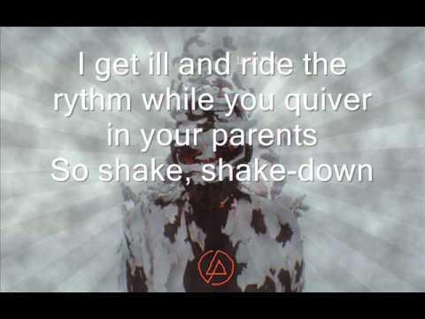 Linkin Park - Until It Breaks HQ Lyrics on screen