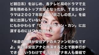 米倉涼子の結婚相手に安住紳一郎アナの名前が急浮上米倉涼子 始球式 htt...