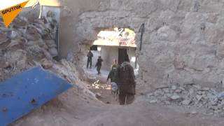 بالفيديو: الجيش السوري يقترب من عمق الأحياء الشرقية لحلب ويرعب المسلحين