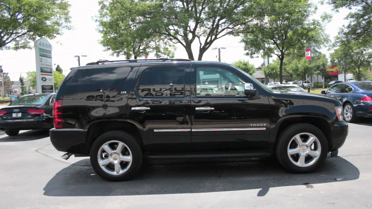 Used Chevy Tahoe >> 2010 Chevrolet Tahoe - Village Luxury Cars Markham - YouTube
